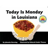 Books Today is Monday in Louisiana: Board Book