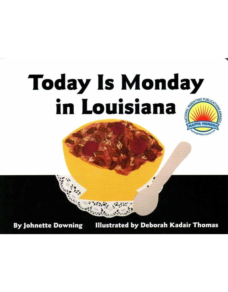 Today is Monday in Louisiana: Board Book