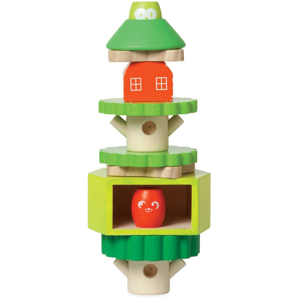 Manhattan Toys Treehouse Stack-Up Toy