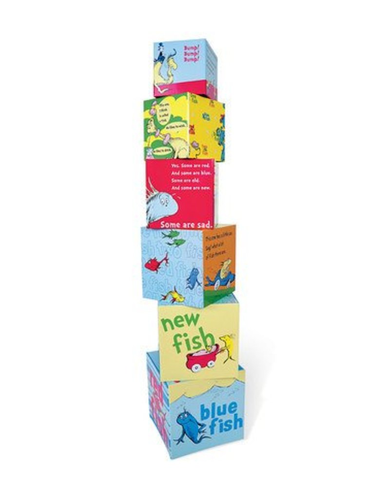 Manhattan Toys Dr. Seuss One Fish Stacking Blocks