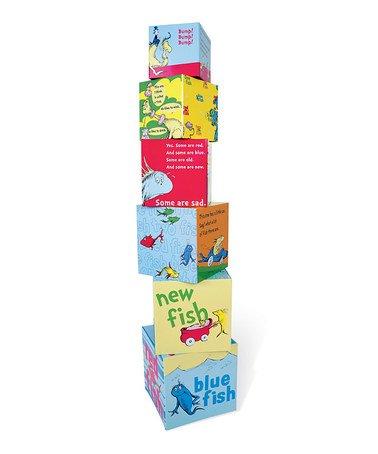 Manhattan Toys Dr. Seuss One Fish Stacking Blocks
