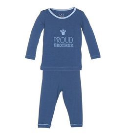 KicKee Pants KicKee Pants Long Sleeve Pajama Set