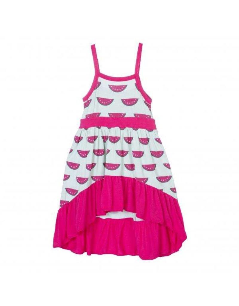 KicKee Pants KicKee Pants Print Hi Lo Maxi Dress
