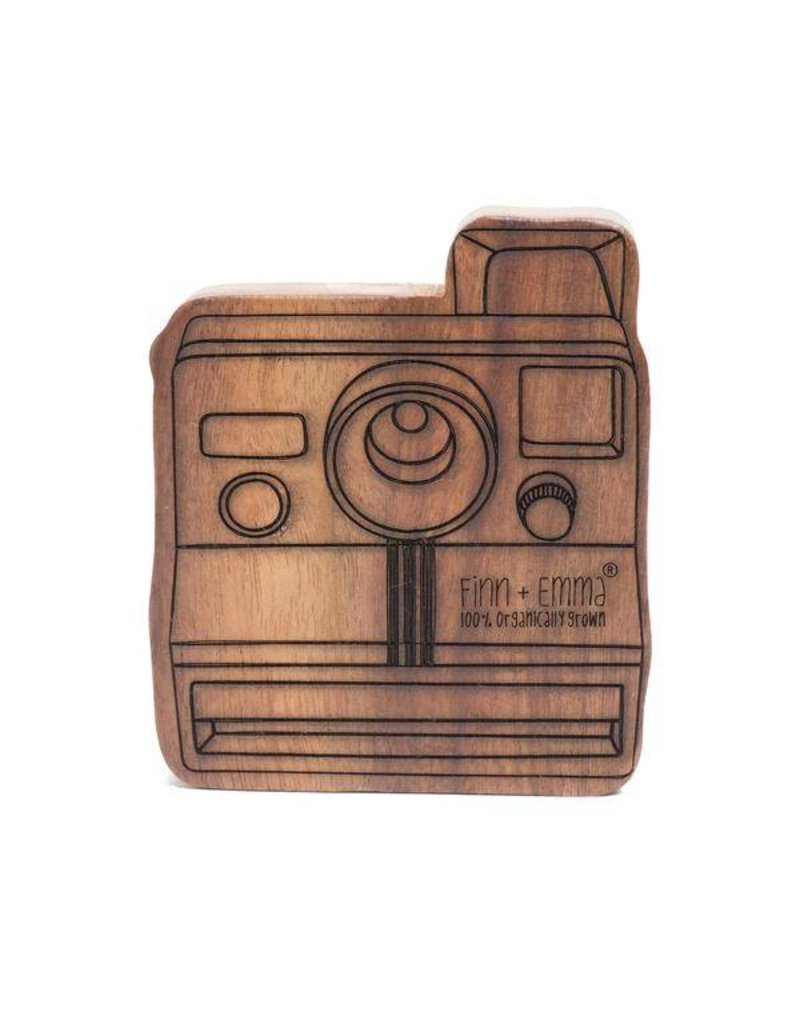Finn + Emma Finn + Emma Wood Rattle Teether Camera
