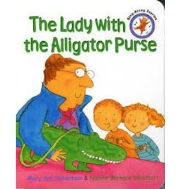 Lady With An Alligator Purse