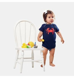 Bon Temps Boutique Bon Temps Boutique Crab Picot Trimmed Onesie