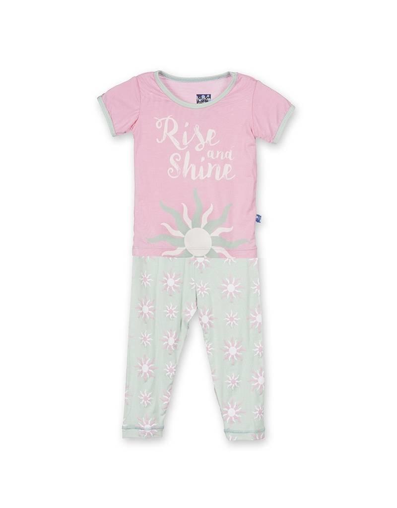 KicKee Pants KicKee Pants Print Short Sleeve Pajama Set