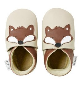 Bobux Bobux Soft Sole Shoe in Beige Fox