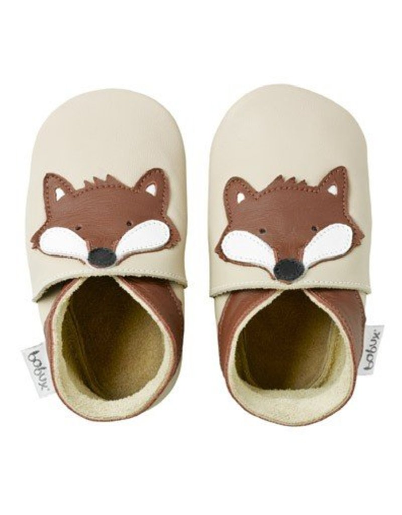 Bobux Bobux Soft Sole Shoe in Beige Fox