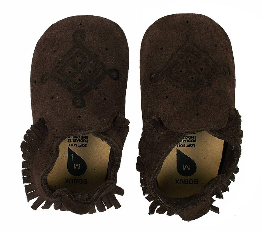 Bobux Bobux Soft Chocolate Loafer Mocassin