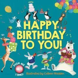 Happy Birthday To You Musical Singing Book