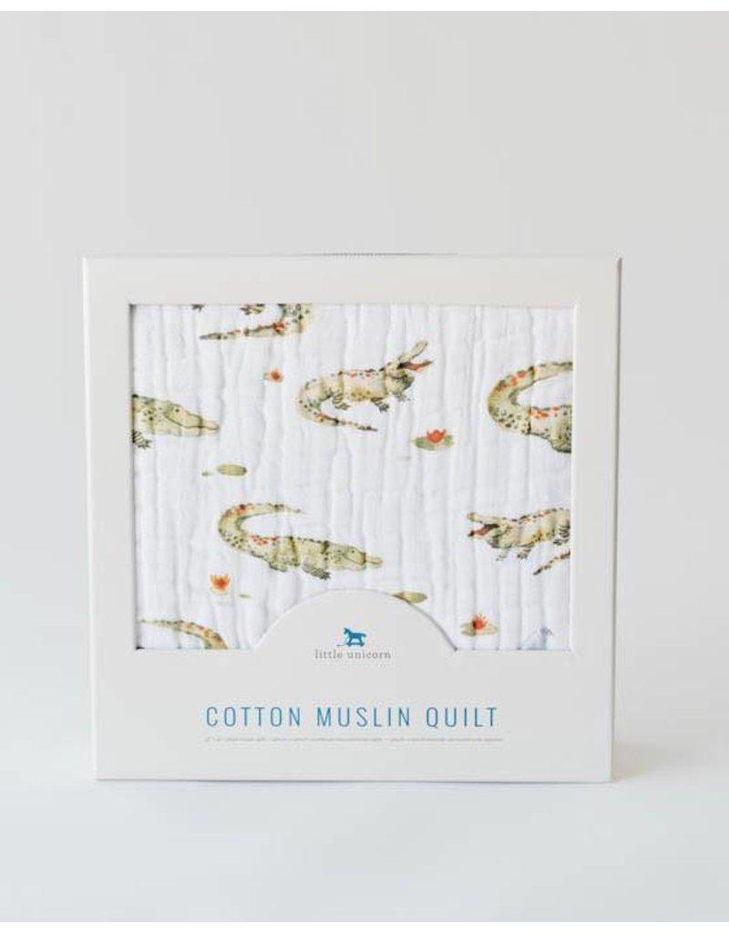 little unicorn Cotton Muslin Quilt