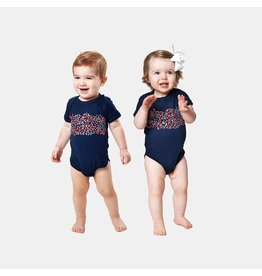 Bon Temps Boutique Bon Temps Boutique Red Beans Onesie