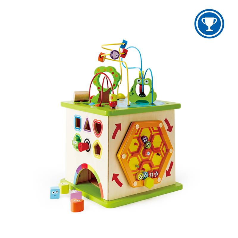 Hape Hape Country Critters Play Cube