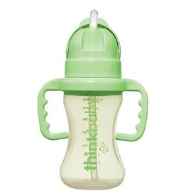 thinkbaby thinkbaby Thinkster Straw Bottle - Green