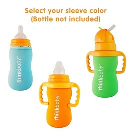 thinkbaby thinkbaby Limestone Thermal Bottle Sleeve - Green