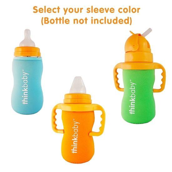 thinkbaby thinkbaby Limestone Thermal Bottle Sleeve - Green