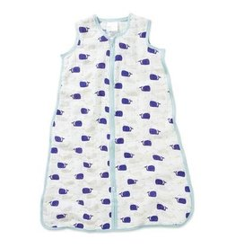 aden + anais Muslin Sleeping Bag - High Seas