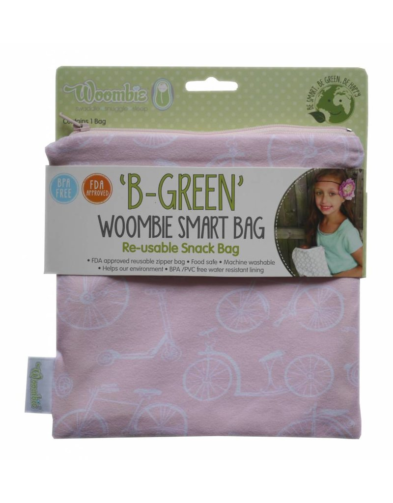 Woombie Woombie B-Green Re-usable Snack Bag