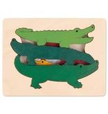 Hape Hape Wooden Gator Puzzle