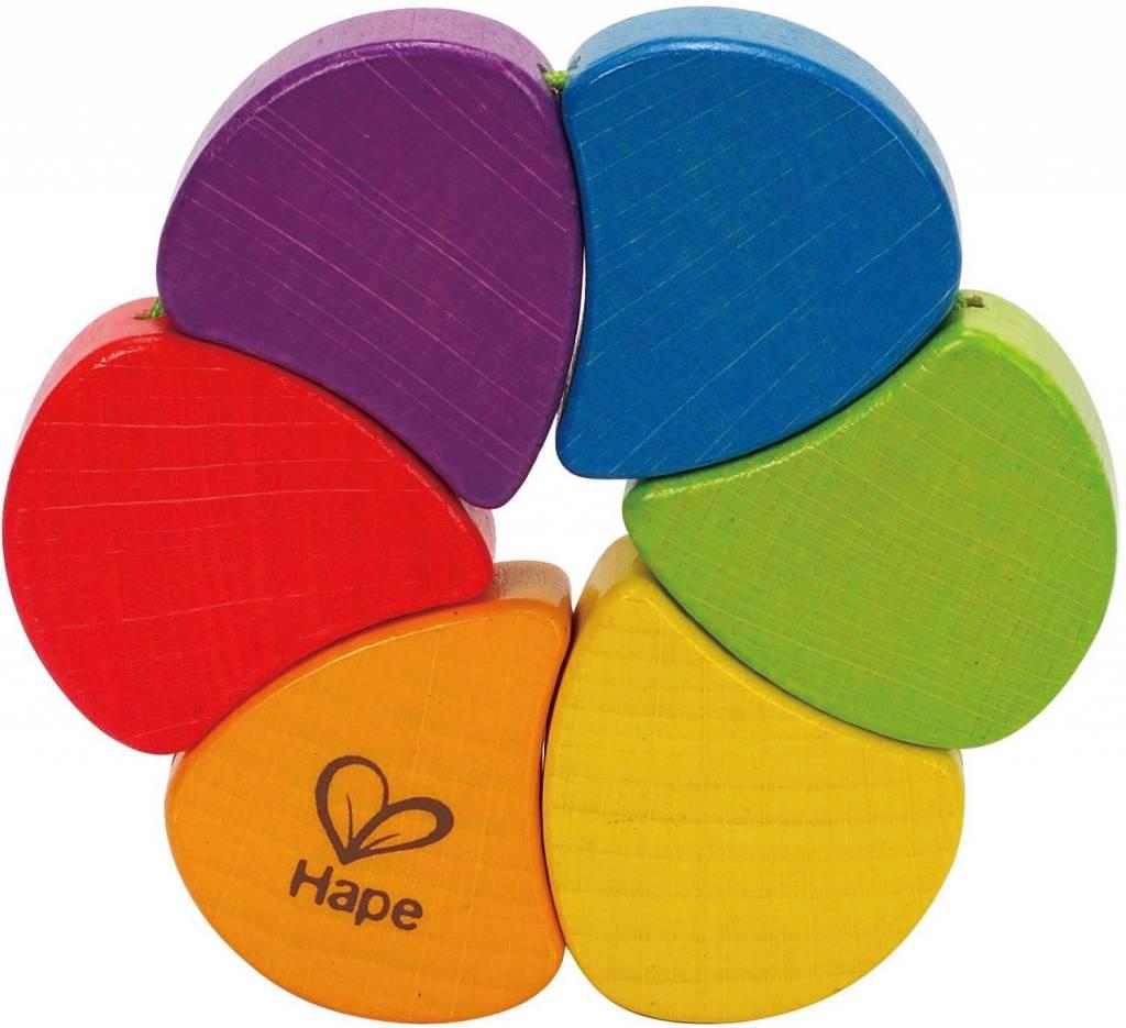 Hape Hape Wooden Rainbow Rattle