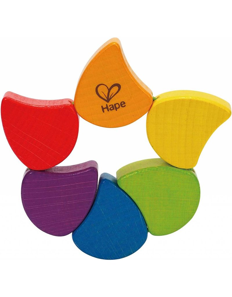 Hape Hape Wooden Rainbow Rattle