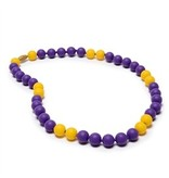 Chewbeads Chewbeads Spirit Necklace - Yellow/Purple