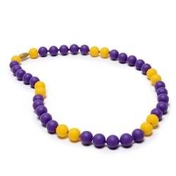 Chewbeads Chewbeads Spirit Necklace - Yellow/Purple