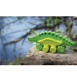 Jack Rabbit Creations Mommy & Baby Alligator Pull Toy