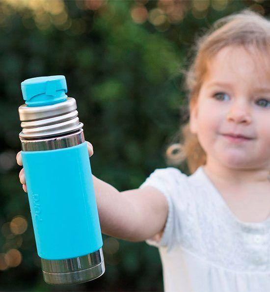 Pura Pura Kiki® 9oz Insulated Sport Bottle with sleeve