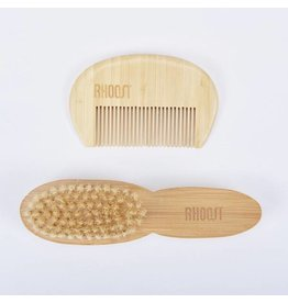 Rhoost 100% Organic Brush + Comb Set