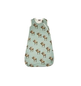 Milkbarn Milkbarn Traditional Bamboo Sleeping Bag in Bow Tie Moose