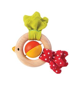 PlanToys Wooden Bird Rattle