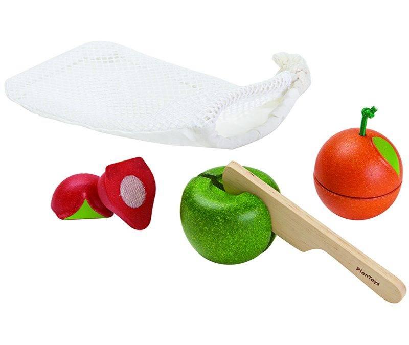 PlanToys Fruit Set