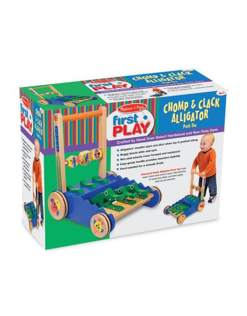 Chomp & Clack Alligator Push