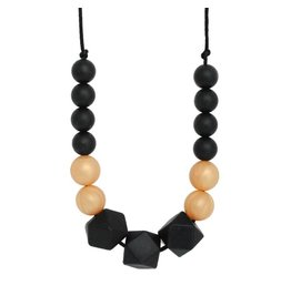 """Silicone """"Who Dat"""" Teething Necklace"""
