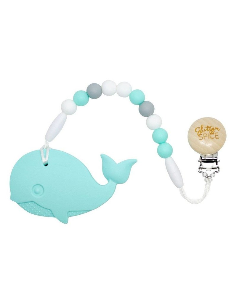 Clip On Silicone Teether