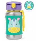 Skip Hop Zoo Stainless Steel Straw Bottle