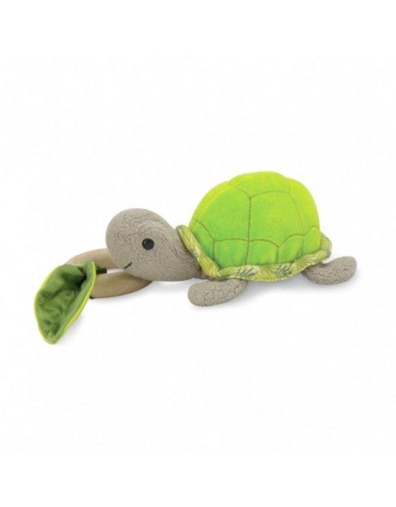 Apple Park Organic Crawling Teething Turtle