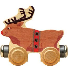 Magnetic Name Train Rudy Reindeer