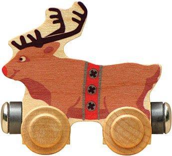 Magnetic Name Train Rudy Reindeer