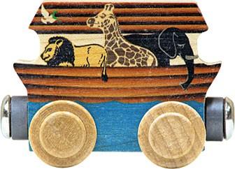 Magnetic Name Train Noah's Ark 1 Car