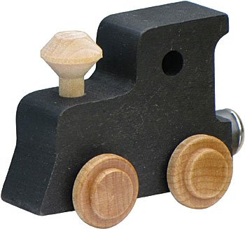 Maple Landmark Magnetic Name Trains Black Engine Car