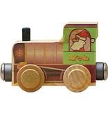 Magnetic Name Train Santa Engine