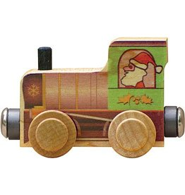 Magnetic Name Train Santa Engine