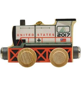 Magnetic Name Train 2017 Engine Car