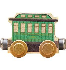 Maple Landmark Name Trains Green Passenger Car