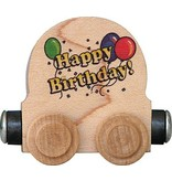 Maple Landmark Magnetic Name Train Happy Birthday Car