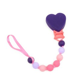 Chewbeads Silicone Pacifier Clip