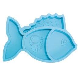 Brinware Silicone Divider Plate Fish
